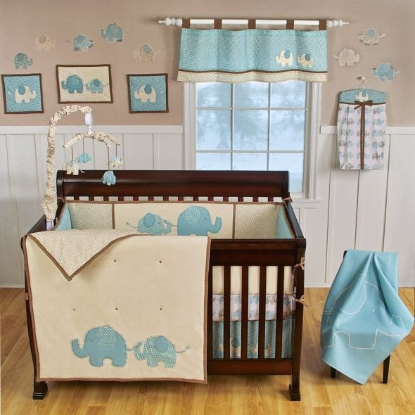 Adorable Elephant Baby Boy Nursery Baby Room Ideas