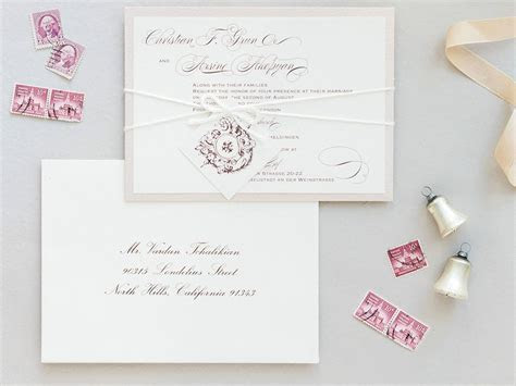 6 Postage Tips for Wedding Invitations