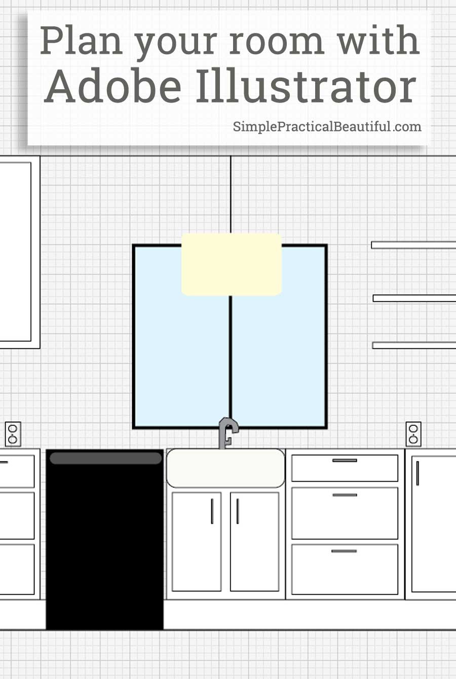 Use Adobe Illustrator to Plan a Room Layout Simple