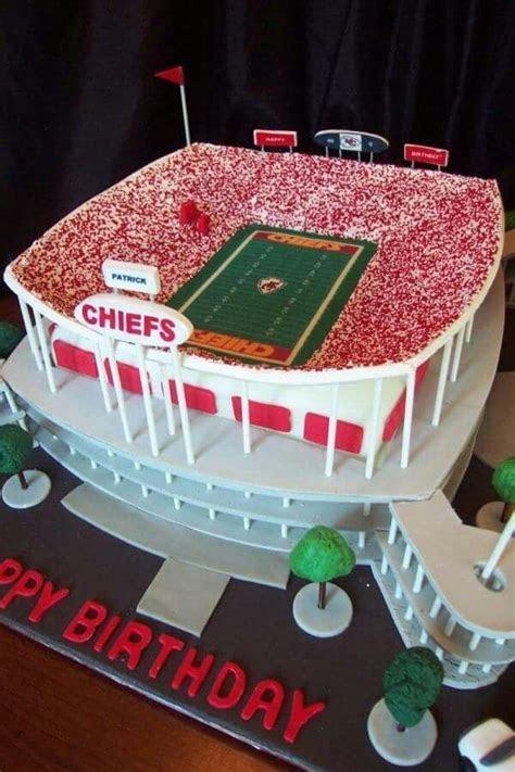 23 best Kansas City Chiefs Cakes images on Pinterest