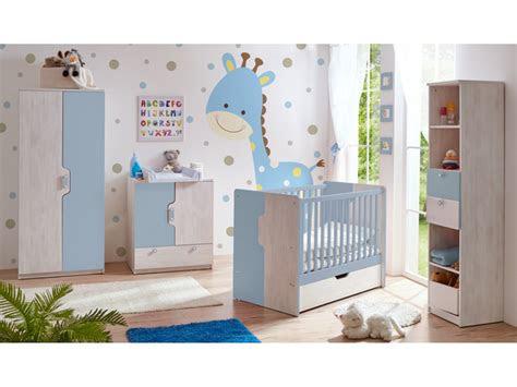 babyzimmer nino  teilig blau massivmoebel