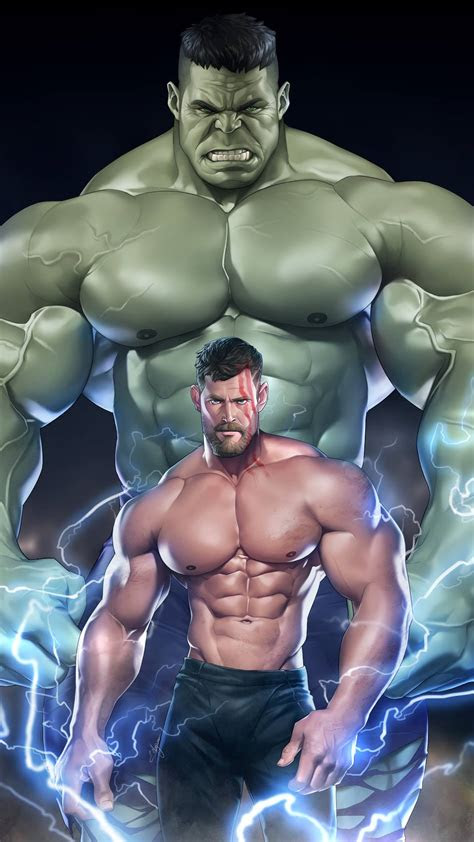 hulk  thor iphone wallpaper iphone wallpapers