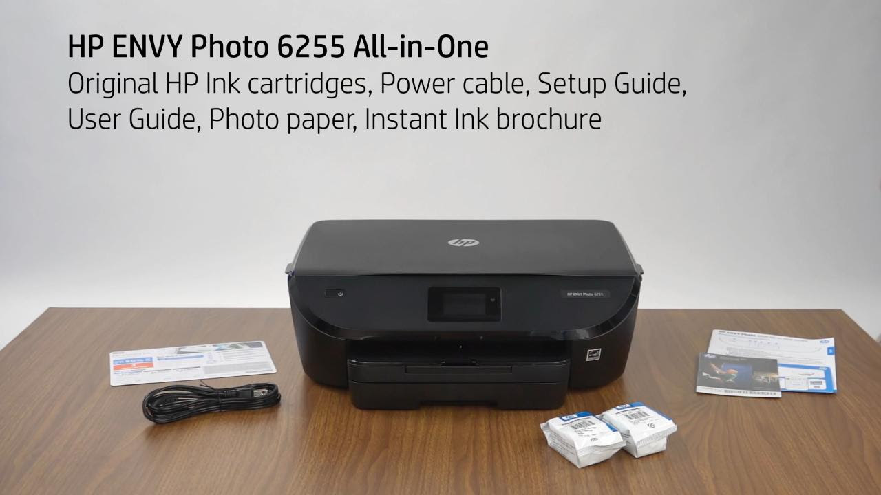 Hp Envy Photo 6200 Instant Ink Unboxing Video Ww Envy Hp Inc