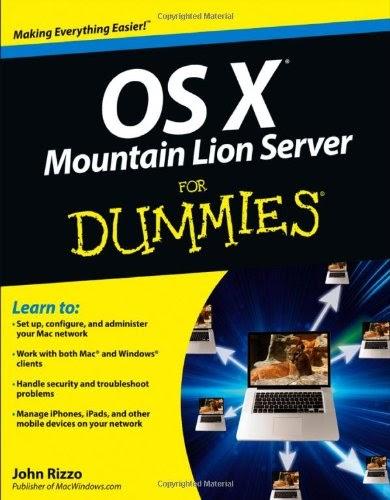 [PDF] OS X Mountain Lion Server For Dummies Free Download