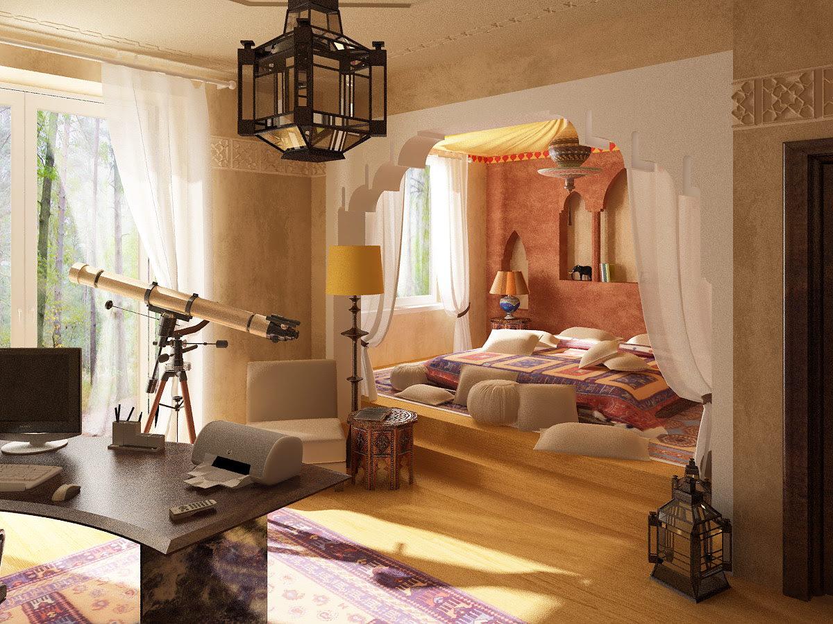 moroccan bedroom inspiration