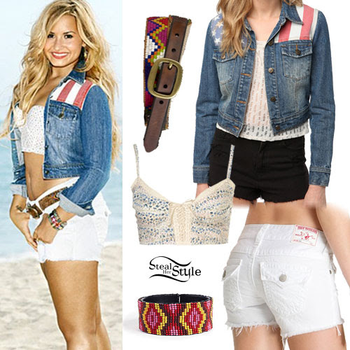 Demi Lovato: SELF Magazine Outfit