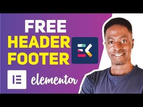 Elements Kit Header and Footer Builder for Elementor