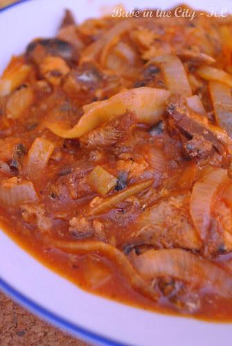 Sardine Stir-Fried With Onions