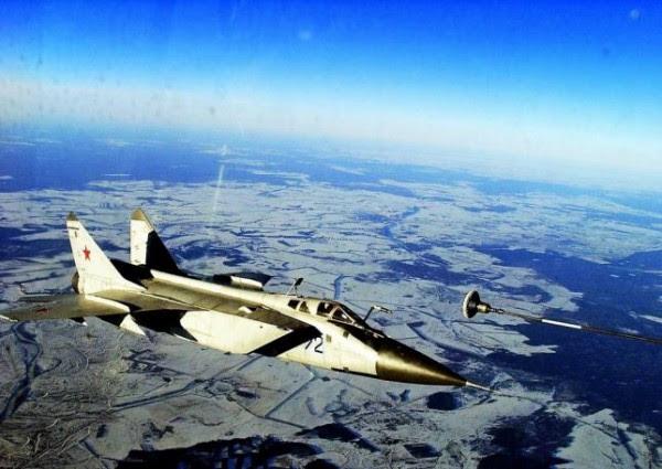 MiG-31 (Imagen: dailyairforce.com)