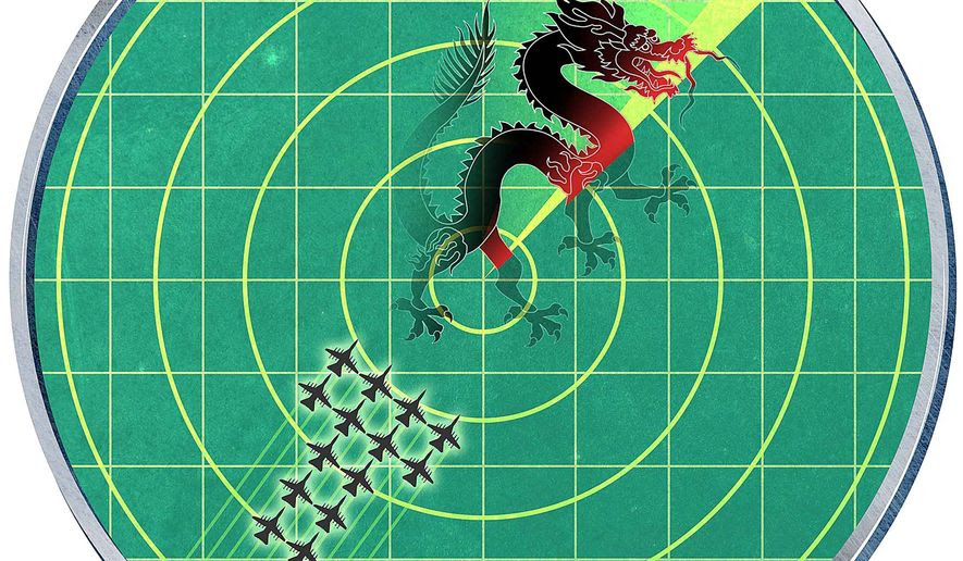 China on the Trump Radar Screen Illustration by Greg Groesch/The Washington Times