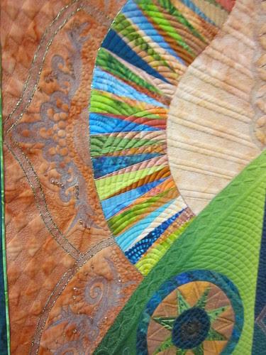 "detail of ""Euphoria"" by Marilyn Badger of St. George, UT"