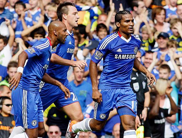 Florent Malouda comemora gol do Chelsea