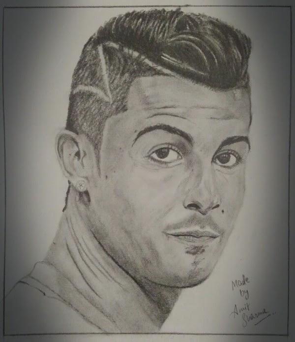 Cristiano Ronaldo Images To Draw