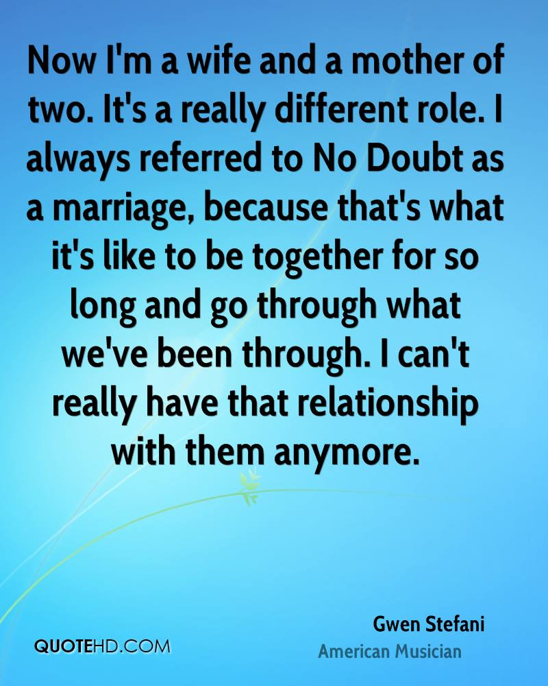Gwen Stefani Marriage Quotes Quotehd