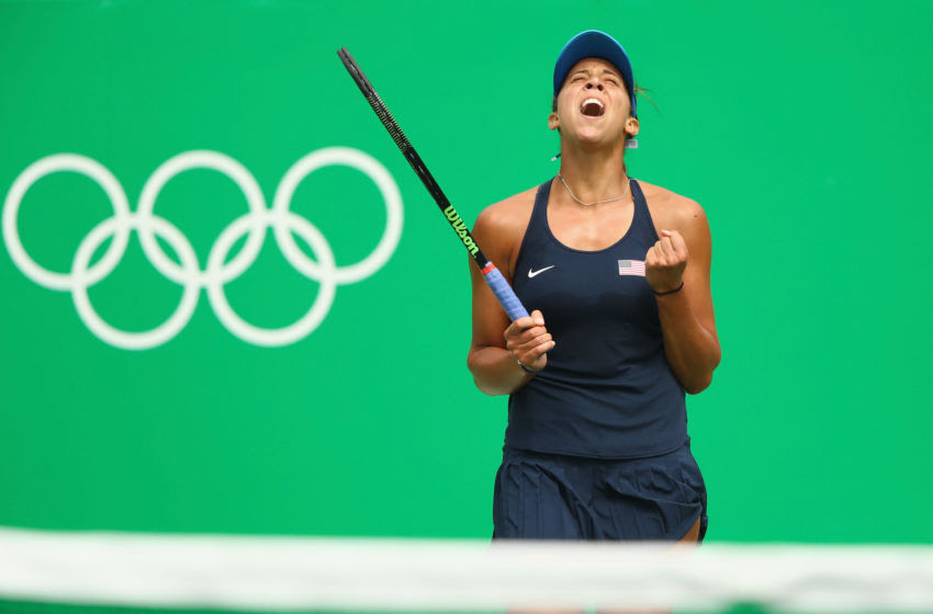 Olympics tennis results, August 11: Madison Keys, Rafael ...