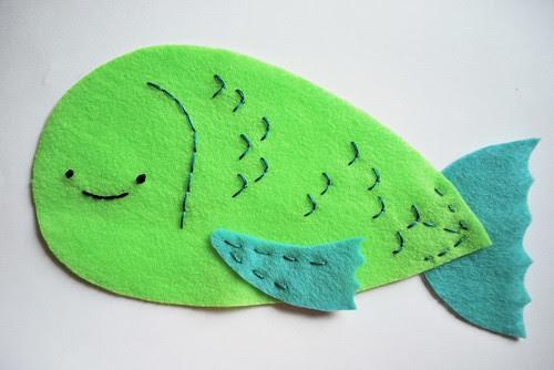make a fish puppet!