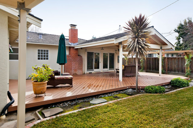 California Backyard and Patio - Traditional - Patio - san ...