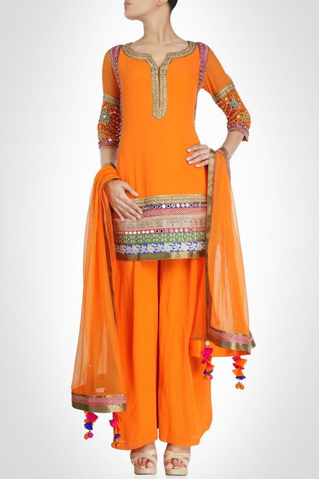 Beautiful-Bridal-Wedding-Lehanga-Choli-Saree-Anarkali-Churidar-New-Fashion-Dress-by-Designer-Surily-Goel-12