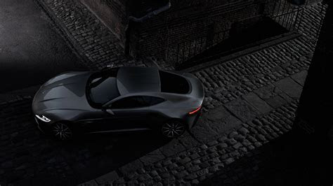 Full HD Wallpaper aston martin db10 coupe black top view