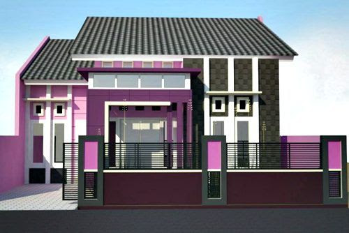 Memilih Kombinasi Warna Cat Untuk Rumah Minimalis