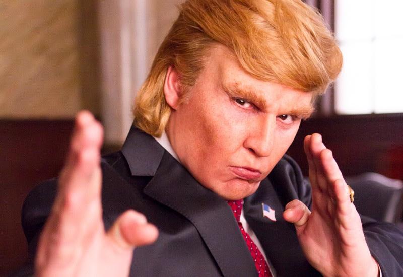 Johhny Depp como Donald Trump. Acredita? (Foto: Divulgação)