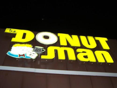 Jim the Donut Man sign