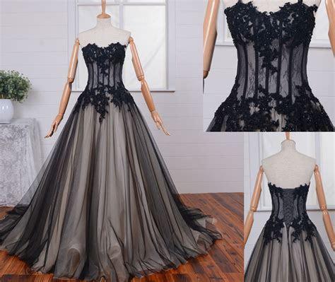 Wedding Dresses,Gothic Wedding Dress,Custom Wedding Dress