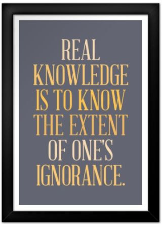 Real Knowledge Poster Maker Quote Posters Custom Posters