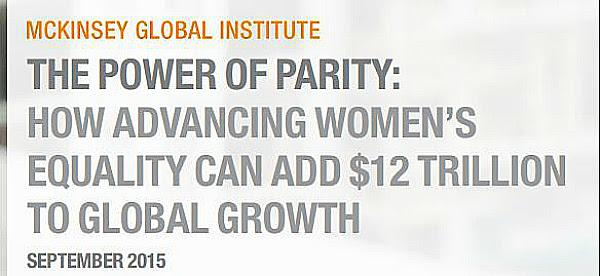 McKinsey women parity report