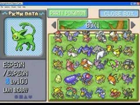 Pokemon Smaragd Cheats Gameshark