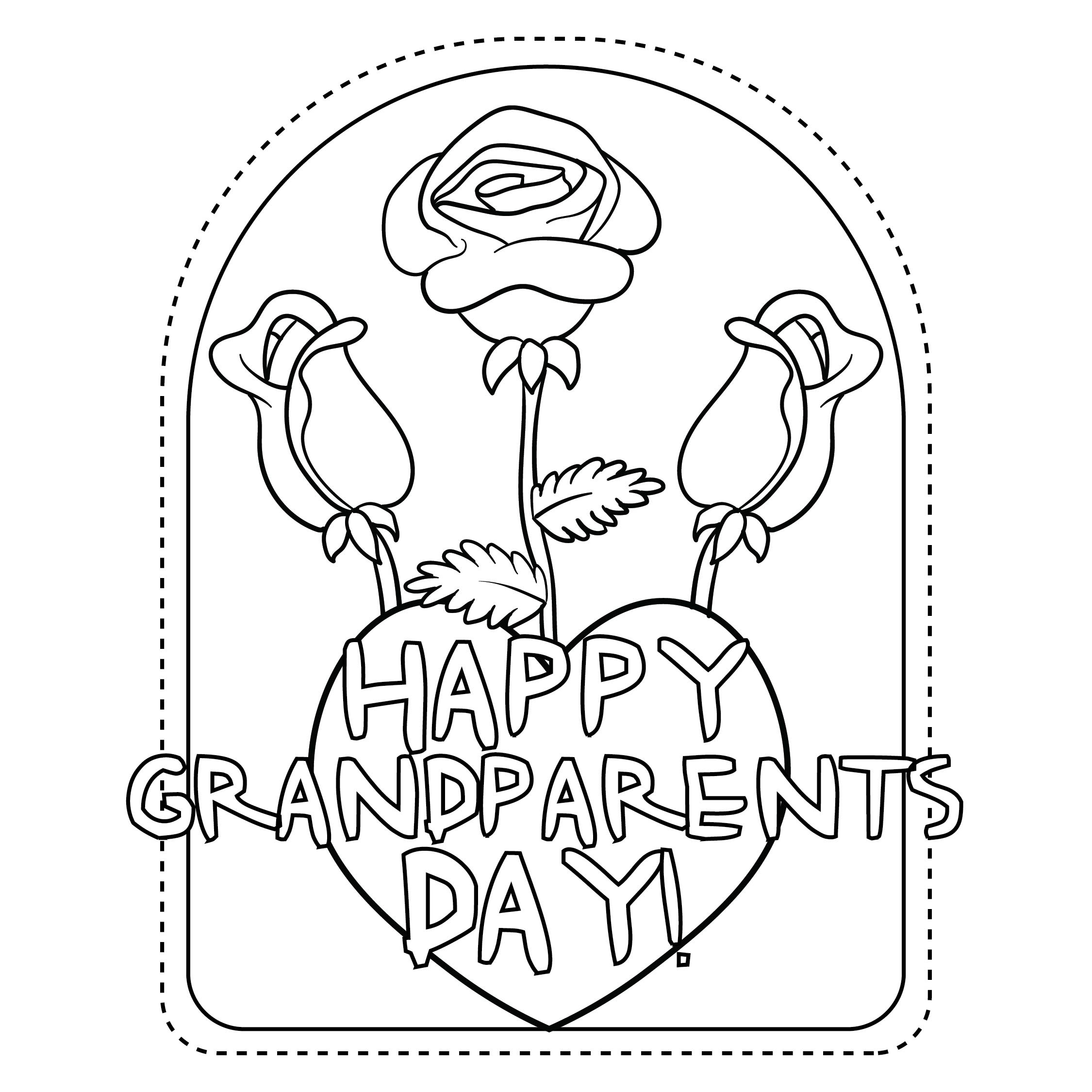 4 Best Images of Grandparents Day Printables ...