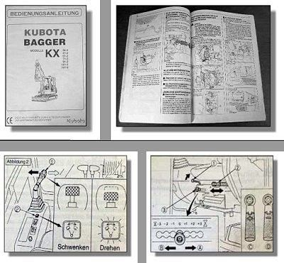 Kubota kx 41 ersatzteilliste pdf