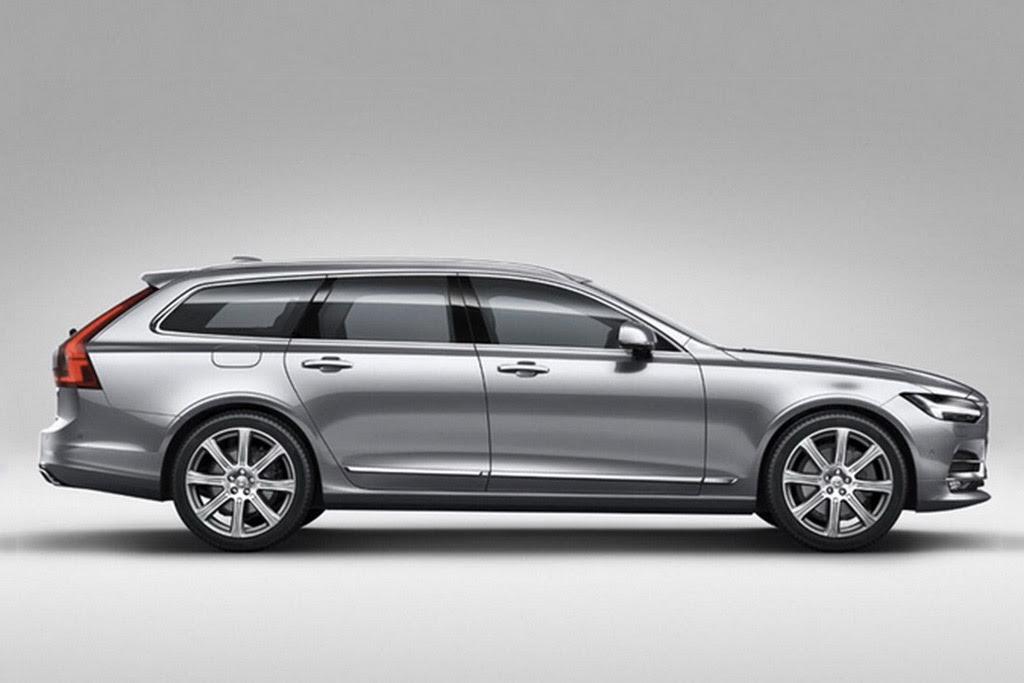 2017 Volvo V90 Leaked Ahead Of February 18 Reveal