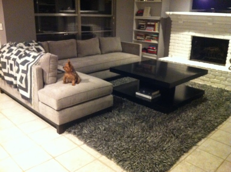 Rug Placement Under Sectional Sofa - Area Rug Ideas