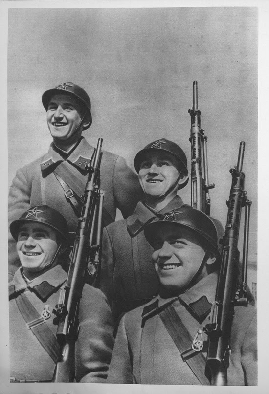 The Red Army in 1936, photo 9