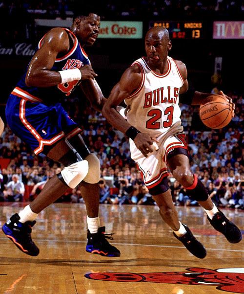 Michael Jordan vs. Patrick Ewing