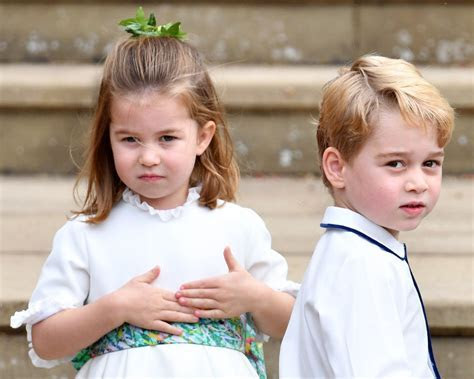 Prince George and Princess Charlotte Reprise Page Boy and
