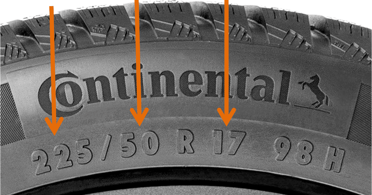 33 Tire Sizes Explained Diagram