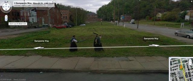 20 Crimes Caught On Google Street View 46 Pics Picture