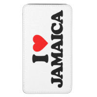 I LOVE JAMAICA GALAXY S5 POUCH