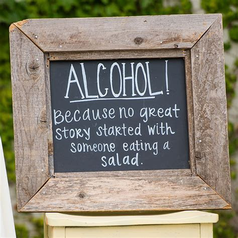 Twenty Awesome Signs You MUST Have at Your Wedding