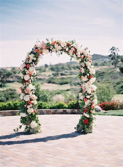 floral wedding arches Archives   Oh Best Day Ever