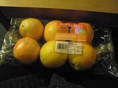 Really nice oranges
