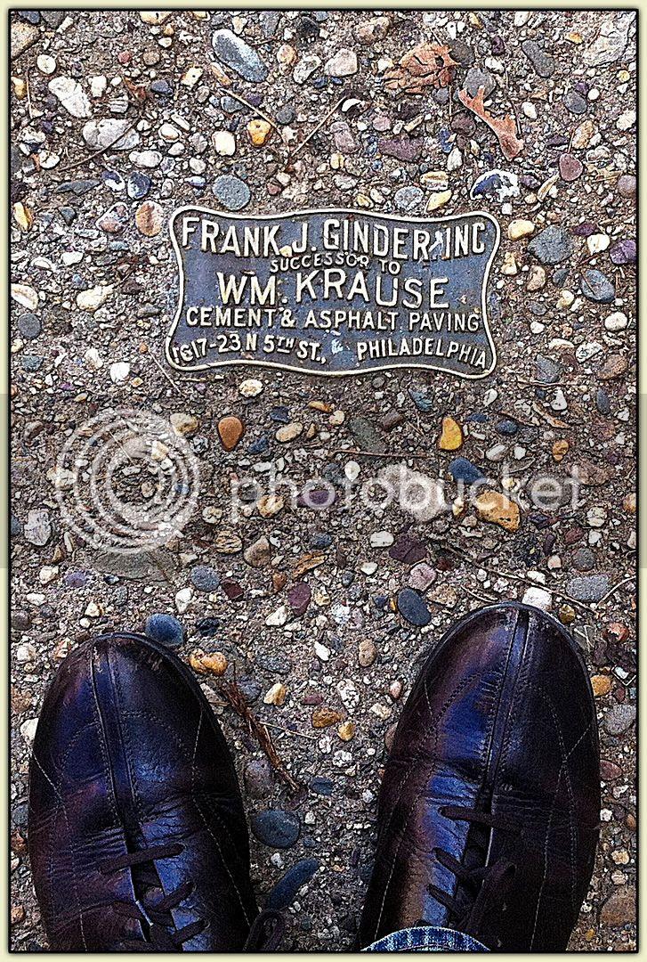 Sidewalk Plaque