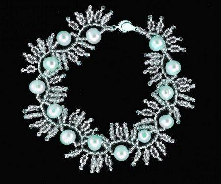 """Guidando bracciali di perline tessere """"Marta"""""""