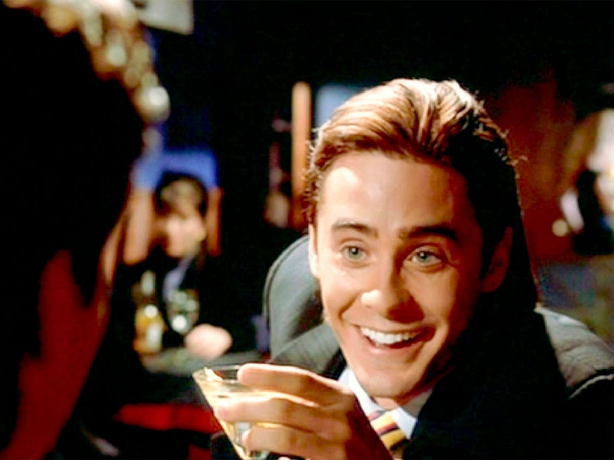 "He gets maimed, again, as the arrogant associate Paul Allen in ""American Psycho."" While Leto was passed up for the lead, he rattled critics in the supporting role."