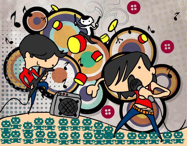Dibujo De Rockband Unplugeed Pintado Por Daxdarien En Dibujosnet El