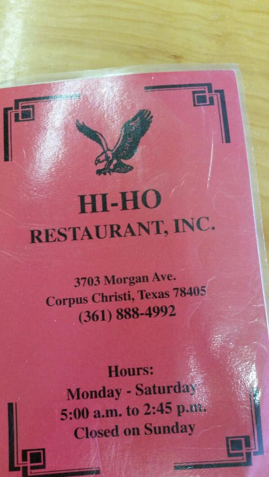 Hi Ho Restaurant Corpus Christi Restaurant Reviews