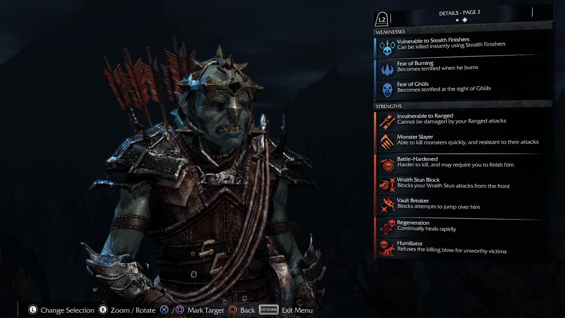 Image result for shadow of mordor nemesis system