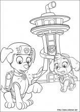 Dibujos De La Patrulla Canina Para Colorear En Colorearnet